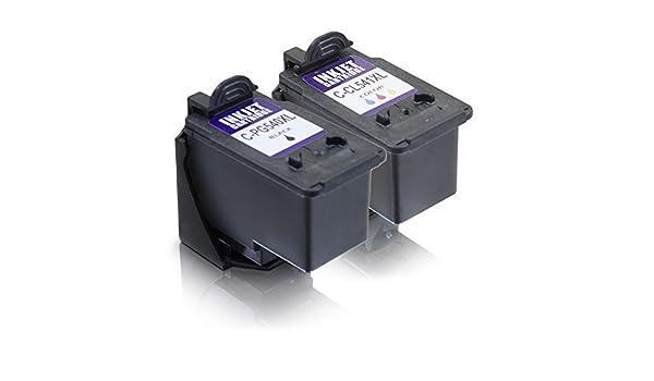 MS de Point® 2 Cartuchos de impresora para Canon Pixma MG3550 ...