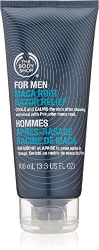 The Body Shop For Men Maca Root Razor Relief, 3.3-Fluid Ounc