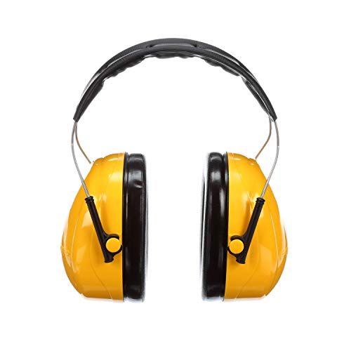 3M Peltor Optime 98 Over the Head Earmuff, Hearing Protectio