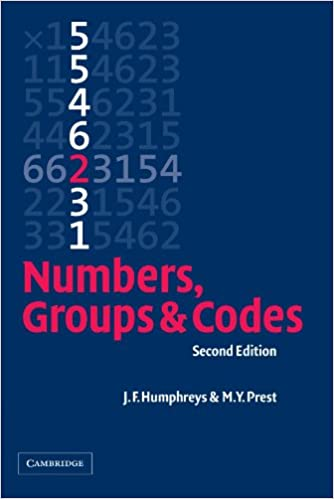 Numbers, Groups and Codes: J. ...