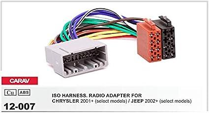 Carav 13-014 autoradio antena cable del adaptador DIN para chrysler Chevrolet Ford