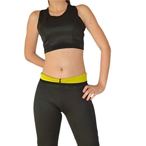 Déguisement Sexy pour femme en néoprène amincissant pour femme corps Shapers T-shirt Hot Sweat shirt pour perte de poids