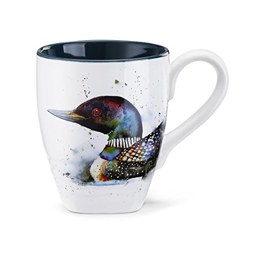 Big Sky Carvers Loon Coffee Mug, Multicolor
