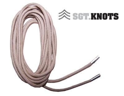 """SGT KNOTS® Paracord Boot Laces - Desert Sand - 72"""""""