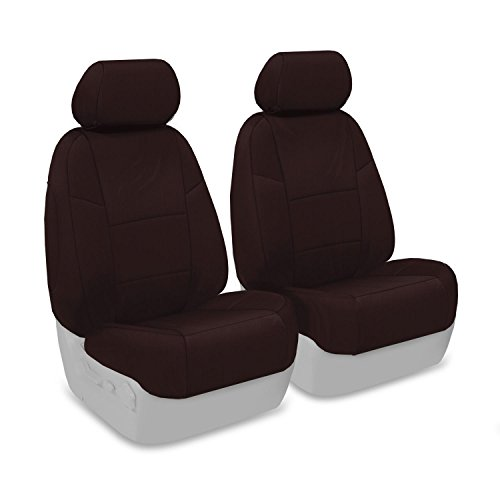 - Coverking Front Custom Fit Seat Cover for Select Mazda CX-7 Models - Poly Cotton (Wine)