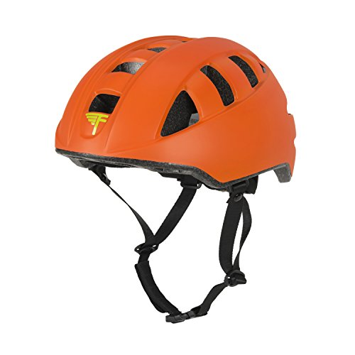 Flybar Junior Helmets for Kids (Orange, Medium)
