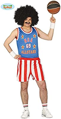 Disfraz de jugador de básquet U.S.A. adulto: Amazon.es: Juguetes y ...