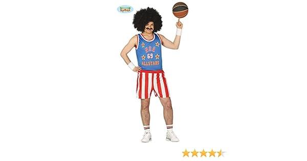 Disfraz de jugador de básquet U.S.A. adulto: Amazon.es: Juguetes y juegos