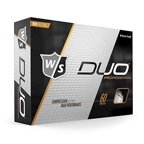 Wilson Staff Duo Pro Golf Ball, White