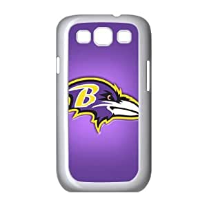 Baltimore Ravens Samsung Galaxy S3 9300 Cell Phone Case White ten2-526337