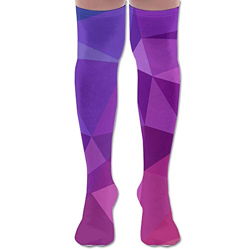 BuecoutesGeometric Art Athletic Stockings 60cm Long Sock One Size For Women