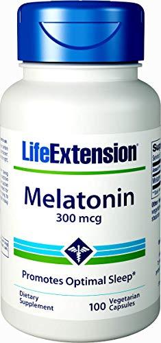 500 Capsules 300 Mcg - Life Extension Melatonin, 300 Mcg, 100 Capsules