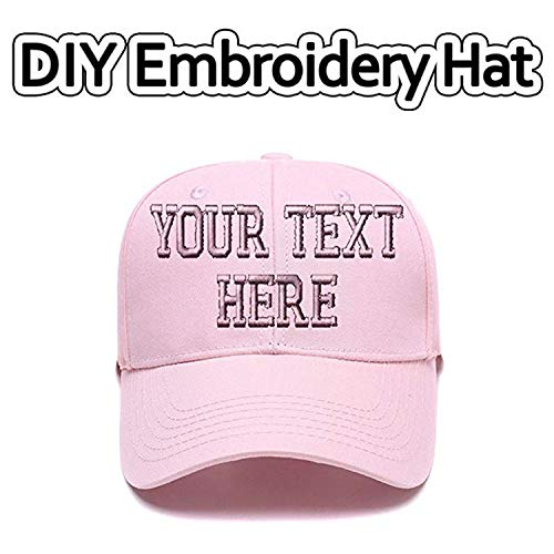 (Sports Outdoors Snapback Visors Custom Text Embroidered Dad Hats Personalized Hip Hop Curved Bill Baseball Caps)