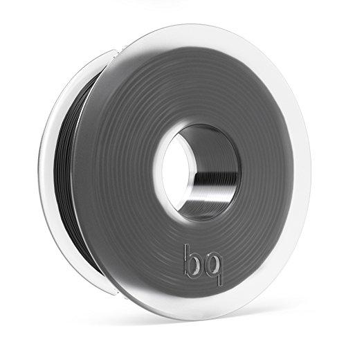 BQ - Filamento PLA de diámetro 1.75 mm, 300 g, Color Coal Black