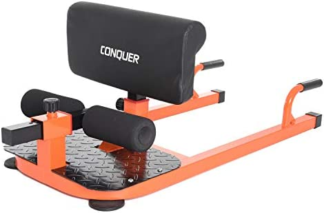 Conquer 3-in-1 Sit Up, Deep Sissy Squat, Push Up Ab Workout Home Gym Machine