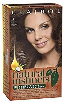 Price comparison product image Natural Instincts Non-Permanent Haircolor, 13 Light Brown 1 ea