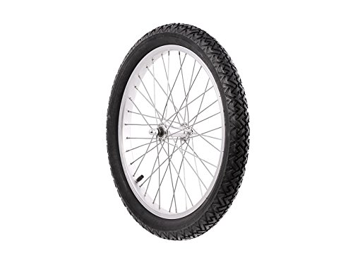 AKF Complete Wheel, Alloy Rim, Tyres VEE RUBBER - for Moped Trailers