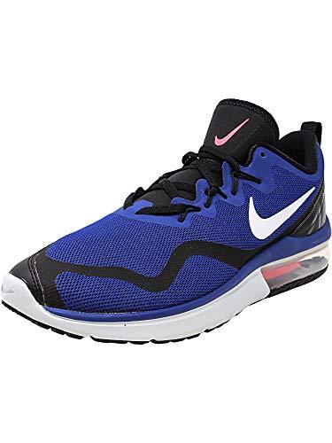 Nike Women's Air Max Fury Deep Royal Blue/White-Black Low Top Cross Trainer Shoe - 11.5M