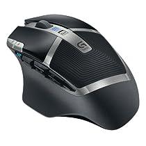 Logitech G602 Wireless Gaming Mouse, Nero/Antracite, Versione Italiana