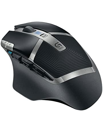 Logitech G602 - Ratón Gaming inalámbrico USB, Negro