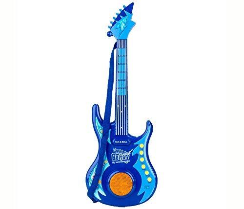 Mozlly Blue Guitar Kids Music Instrument - Instrument Theme - Item #101333 by Mozlly