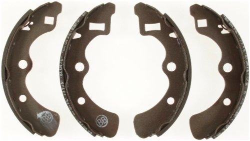 Bendix R493 Rear Relined Brake Shoe Set