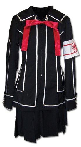 Vampire Knight Day Class Girl Costume (Vampire Knight Day Class Girl's School Uniform Cosplay Costume (l))