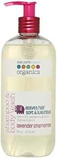 product image for Nature's Baby Organics Shampoo & Body Wash, Vanilla Tangerine, 8 oz | Babies, Kids, & Adults! Moisturizing, Organic, Soft, Natural, Suave, Hypoallergenic | No Harsh Chemicals Or Parabens, SLS, Glutens