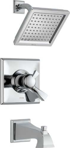 Delta T17451 Dryden Monitor 17 Series Tub and Shower Trim, Chrome by DELTA FAUCET