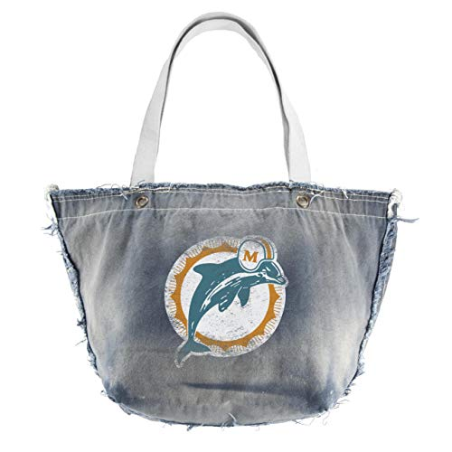 - Littlearth Productions NFL Miami Dolphins Denim Vintage Tailgate Tote