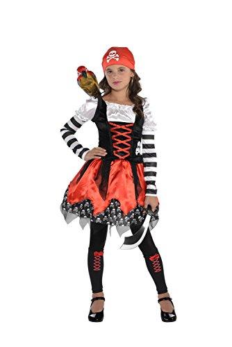 Cross Bone Cutie - 3 Piece Costume Set - Size Small (4-6) -