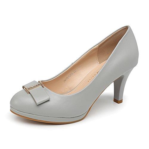 PUMPS Damen High Heels,Licht Betritt Schuhe-B Fußlänge=22.8CM(9Inch)