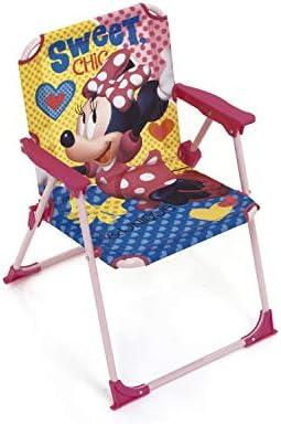 ARDITEX Silla Plegable para niños bajo Licencia Minnie Mouse ...