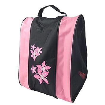 Cutowin - Bolsa de almacenamiento portátil para patines o zapatos, para niños y adultos, rosa: Amazon.es: Deportes y aire libre