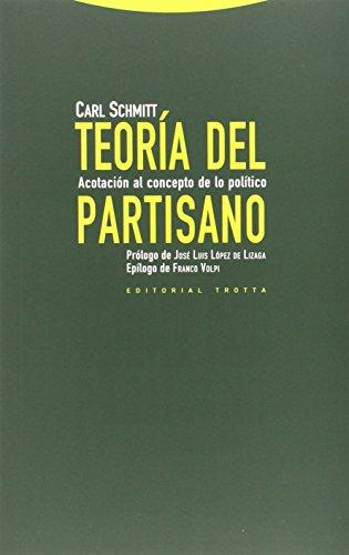 Descargar Libro Teoría Del Partisano Carl Schmitt