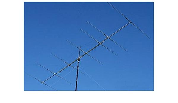 Antena yagi 4 Elementos Banda CB 11 M 27 MHz, Boom 5,39 M 10 ...