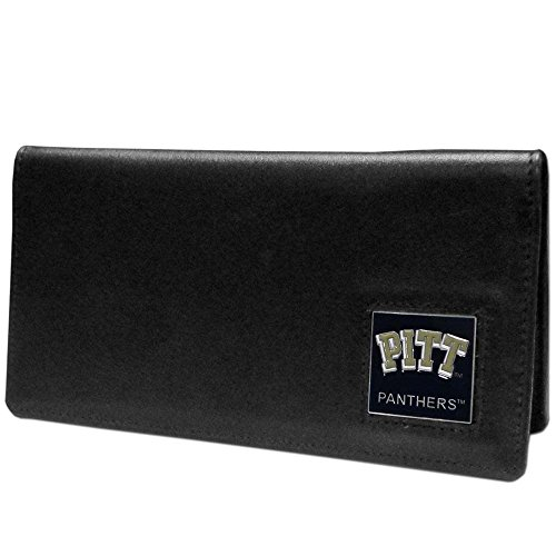 NCAA Pittsburgh Panthers  Leather Checkbook Cover