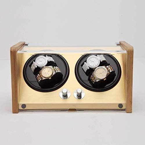 ギフトウォッチワインダーウォッチワインダーボックスワインディングボックス腕時計自動機械式時計ウィンガー回転電気ウォッチボックスウォッチワインダーミュートウォッチボックス(カラー:C)、色名:B (Color : B)