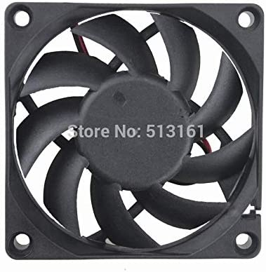5 PCS Gdstime DC 5V 70mm 70x70x15mm 7015S 2 Pin Silent Brushless PC Computer Cooling fan