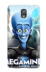 Premium Megamind 2010 Movie Back Cover Snap On Case For Galaxy Note 3