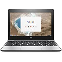HP Premium 11 inch Chromebook, HD SVA anti-glare Screen, Intel Celeron 1.60 Ghz Processor, 4GB RAM, 16GB eMMC SSD, 802.11AC WIFI, HDMI, USB 3.0, Webcam, Bluetooth, Chrome OS, only 2.51 lb