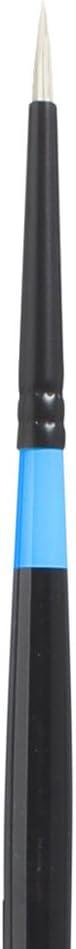 Size 20 Series 6500 Flat White Synthetic Glare-Free Plein-Art Brush for Acrylic /& Oil Princeton Artist Brush Aspen