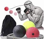 The Ultimate Reflex Ball Set - CANADIAN DESIGNED - Set of 3 Reflex Ball Plus Premium Headband, Great for Refle