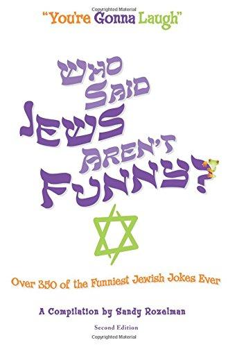 Download Who Said Jews Aren't Funny? pdf