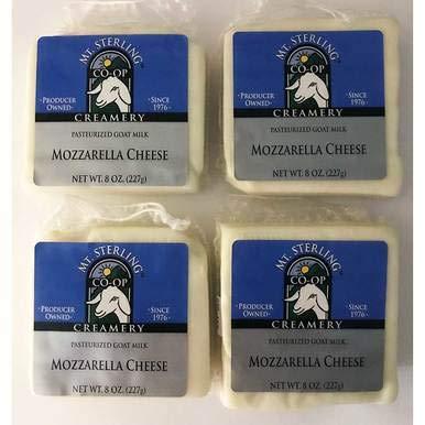 Goat Milk Mozzarella Cheese - Four 8 oz. Packages