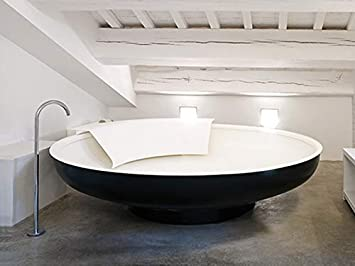 Vasca Da Bagno Ufo : Agape ufo vasca freestanding avas zg bianco grigio scuro con