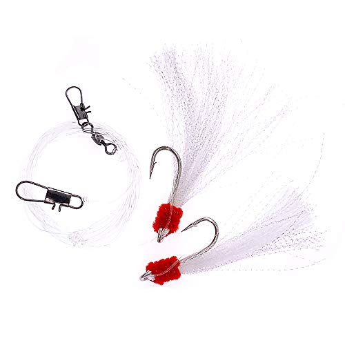 - Shrimp Fly Rigged - Size 5/0 - White - 10 Packs - Item # 377