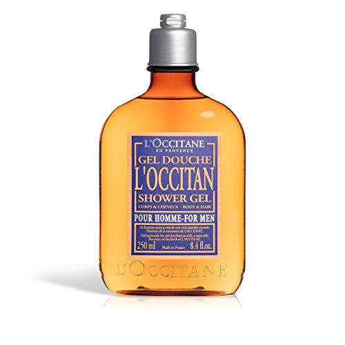 L'Occitane Men's Fresh L'Occitan Shower Gel for Body & Hair, 8.4 fl. - Lavender Hand Loccitane Lotion