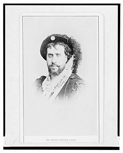 Historic Photos 1870 Photo Jean-Baptiste Faure, French Opera Singer, Head-and-Shoulders Portrait, in Costume as Hamlet, Facing Left/Ch. Reutlinger, Phot.]()