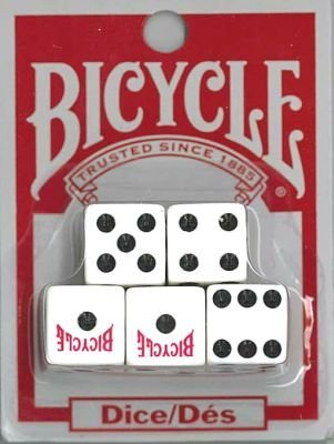 - Dice Bicycle Carded,5-count (3-Pack)